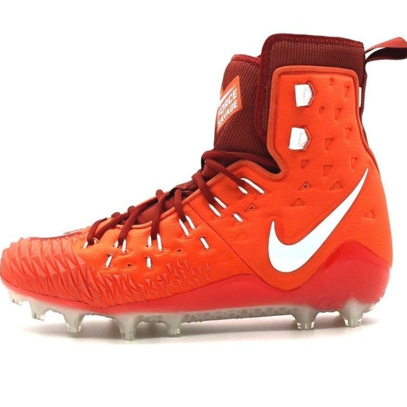 553713ab3f49 New Nike Force Savage Football Cleats OrangeBlk These are new